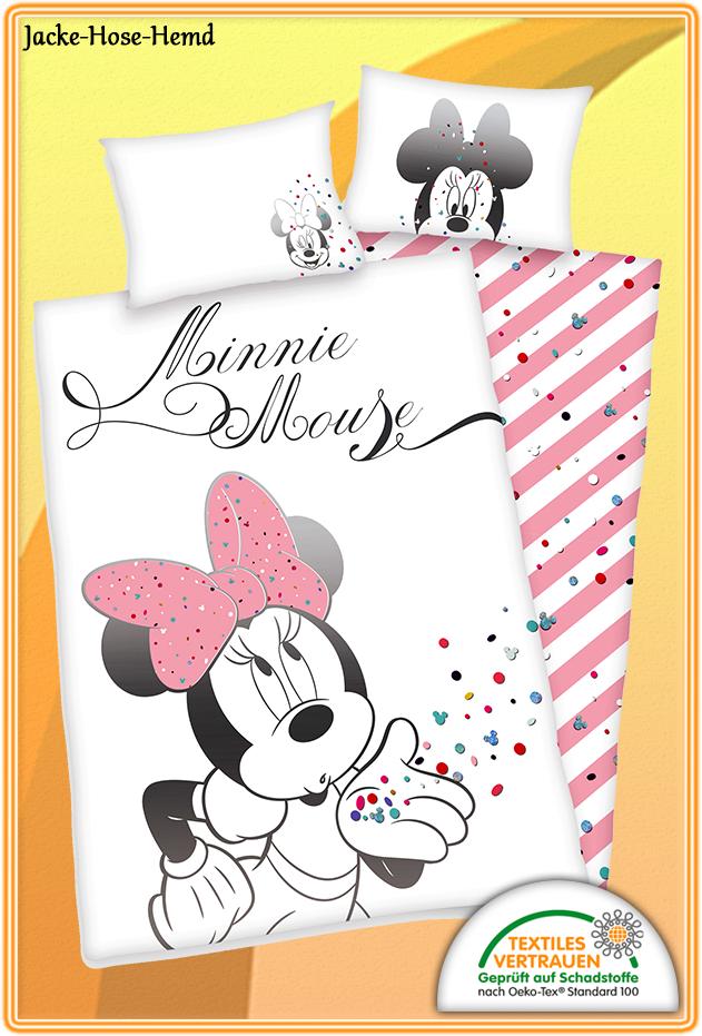 Babybettwäsche Minnie Mouse Bei Uns Im Online Shop Günstig Bestellen