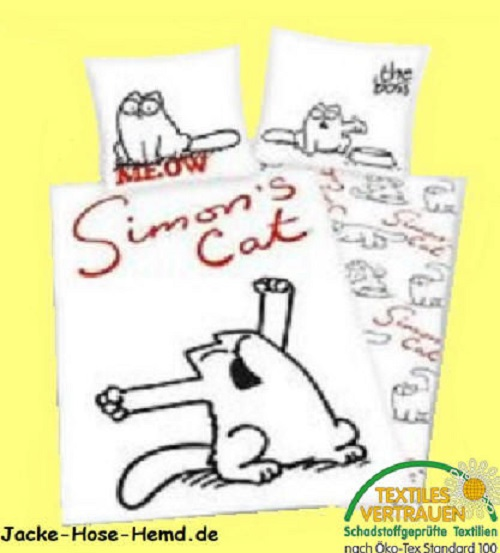 Bettwäsche  Simon's Cat
