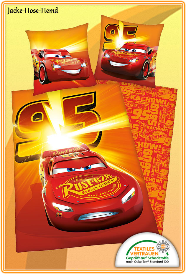 Bettwäsche Disney Cars