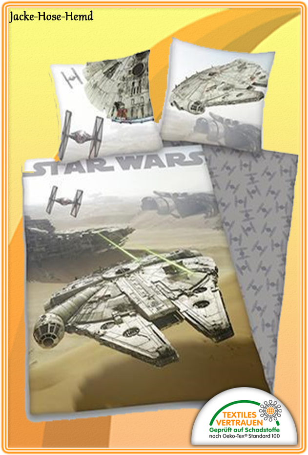 bettw sche flanell star wars bei uns im online shop g nstig bestellen bzw kaufen. Black Bedroom Furniture Sets. Home Design Ideas