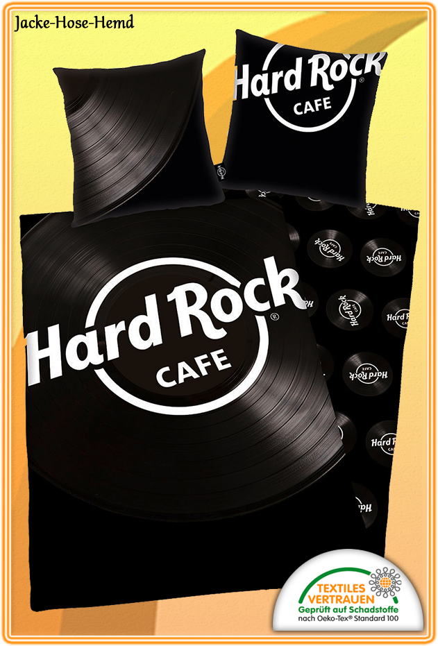 Bettwäsche Hard Rock Cafe