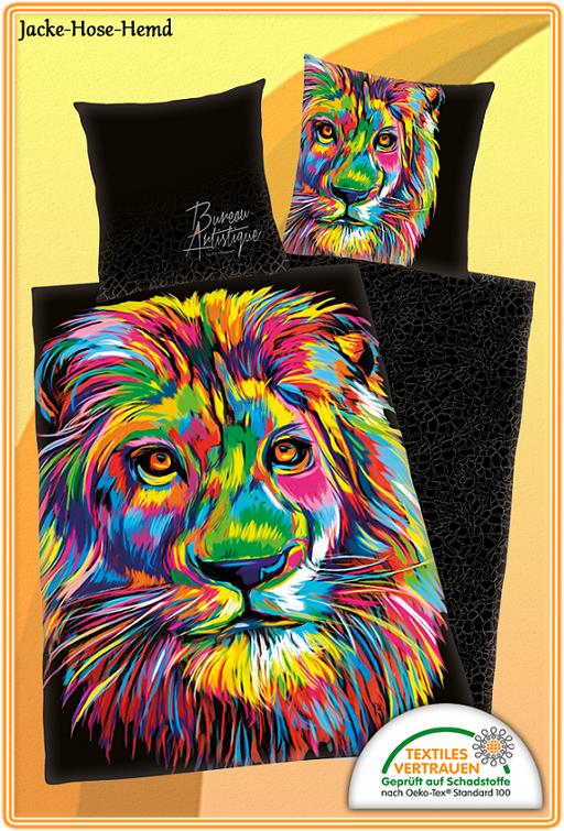 Bettwäsche Löwe Bei Uns Im Online Shop Günstig Bestellen Bzw Kaufen