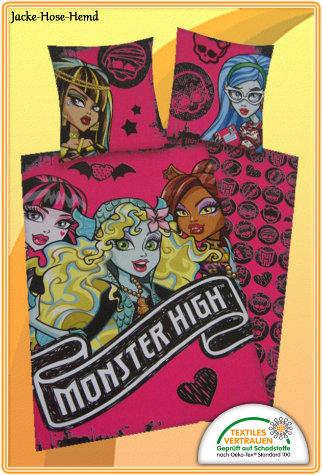 Bettwäsche Monster High