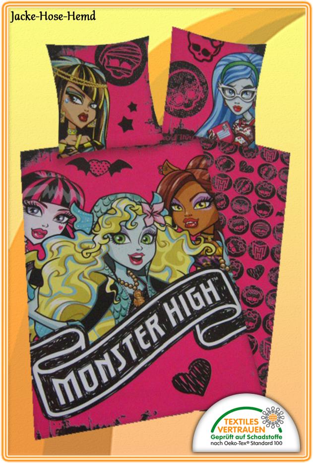 Bettwäsche Monster High Bei Uns Im Online Shop Günstig Bestellen Bzw