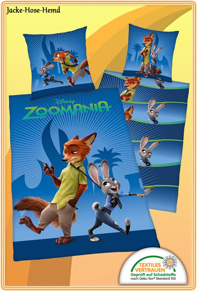 Bettwäsche Zoomania Bei Uns Im Online Shop Günstig Bestellen Bzw Kaufen