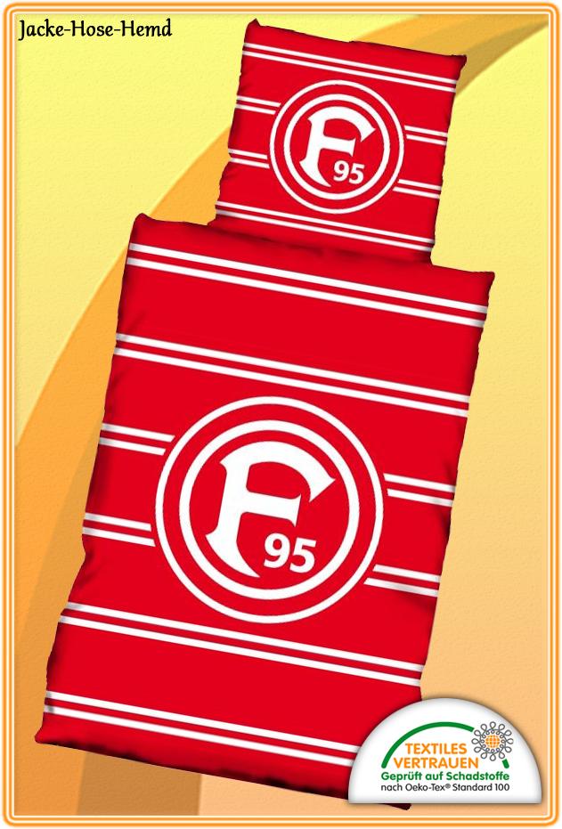 Eintracht Braunschweig Bettw/äsche 135 x 200 cm Blau Logo Baumwolle