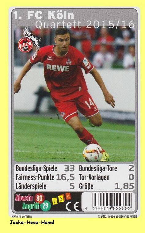 1. Fc Köln Karten
