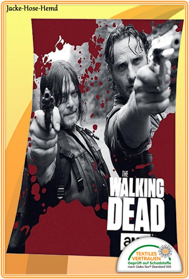 Kuscheldecke The Walking Dead Bei Uns Im Online Shop Günstig