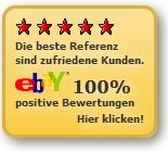 eBay Bewertungsprofil - Jacke-Hose-Hemd_de - 100% positiv